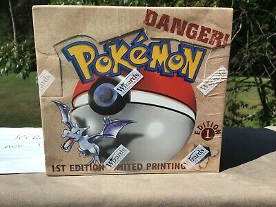 Pokemon Fossil 1st Edition NEW Factory Sealed Booster Box