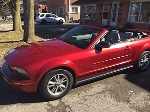 Mustang c convertible V6 safety and Etest