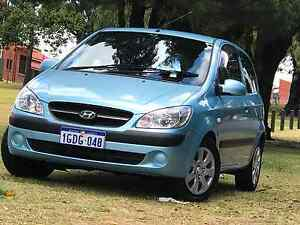 2010 Hyundai Getz 3 Door Manual Carlisle Victoria Park Area Preview
