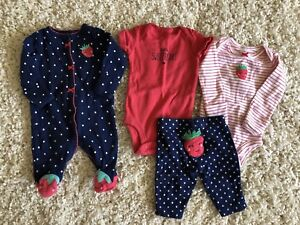 Newborn summer outfit large lot