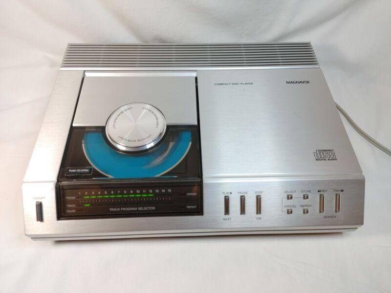 Vintage 1983 Magnavox FD1000 SL01 FD 1000 CD Player.