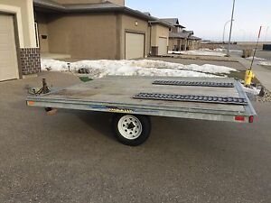 2 place snowmobile trailer Two Place sled trailer