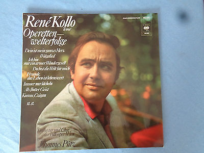 Rene Kollo Operetten-Erfolge Volksoper Wien Johannes Pütz - CBS 62 298