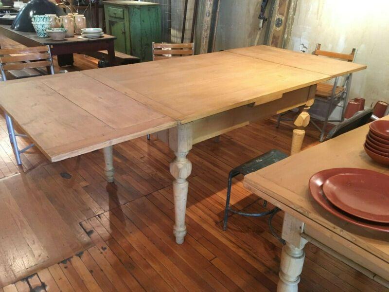 Vintage italian farmhouse dining table