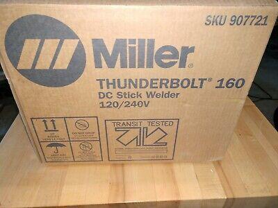 Miller Thunderbolt 160 Dc Stick Welder 120 240 Volt