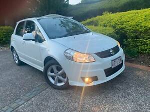 2008 Suzuki SX4 AUTOMATIC, White Pearl, Sports SUV, 100klm. Reg JULY .