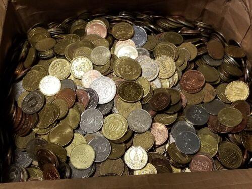 25 Pound Token Lot - Arcade, Baseball, Amusement, Parking, Carwash, Casino