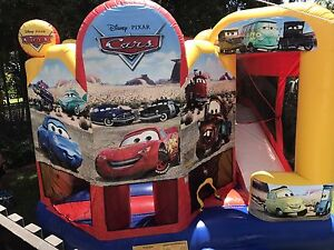 Massive cars jumping castle great for birthday parties Wagaman Darwin City Preview