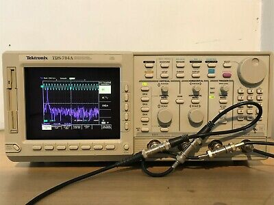 Tektronix Oscilloscope Tds784a 1ghz 4gss In Perfect Working Condition.