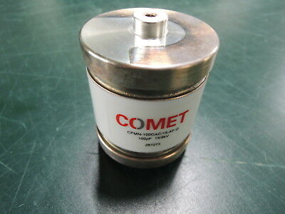 Comet Vacuum Capacitor Cfmn-100cac15-af-g Free Expedited Shipping