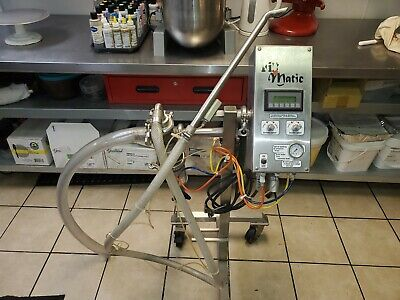 Savage Bros 1381 Fill Matic Ganache Filling Depositor Bakery Equipment Fillmatic