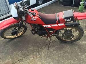 yamaha 2 stroke trail bike dt 175 needs repairs not running d Mount Druitt Blacktown Area Preview