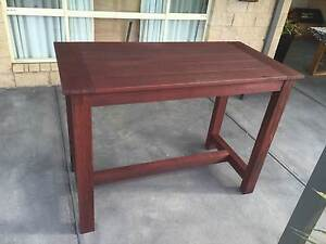 Recycled Jarrah outdoor bar table Cranbourne Casey Area Preview