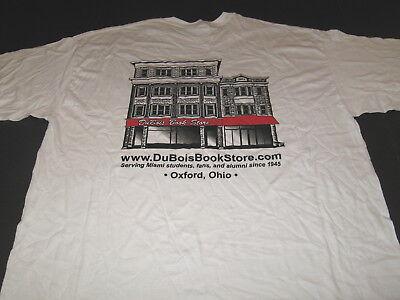 DuBOIS BOOK STORE Oxford Ohio Serving Miami Students Fans Alumni T-Shirt New! XL