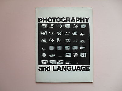 Photography and Language - Camerawork Press, SF, 1977 - Scarce First