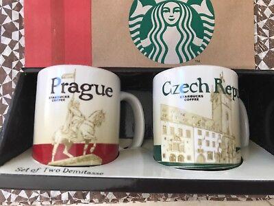 Starbucks City Mug, PRAGUE & CZECH REPUBLIC, «Global Icon» Collection, SKU, 3oz.