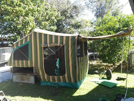 Camper trailer canvas is ok for age