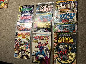 LOT of 11 - Marvel Premiere Ant Man #47, Hawkeye, Secret Wars, Human Fly, ++