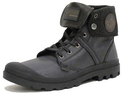 Palladium Men's authentic  Pallabrouse Baggy L2 Chukka Boots, Black, Brand New