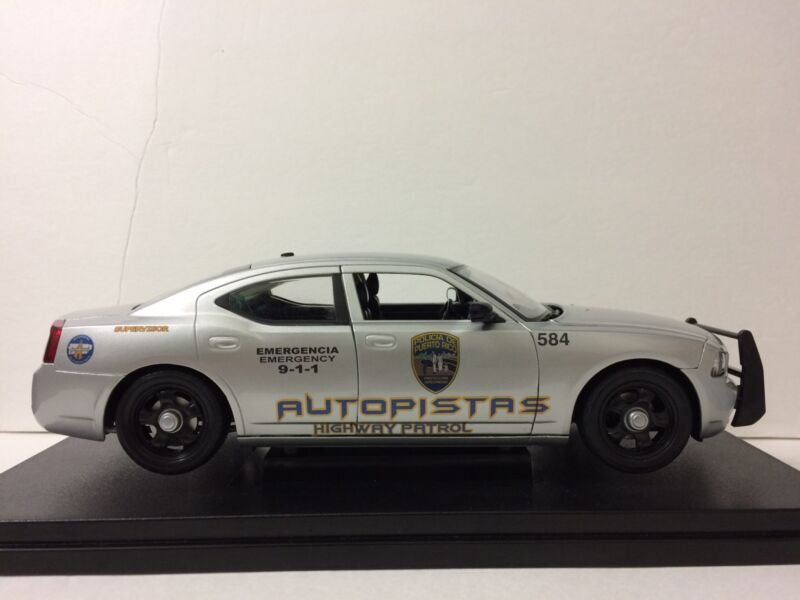 1/18 Puerto Rico Police Autopistas . /// DECAL SET ONLY /// DECAL SET ONLY ///.