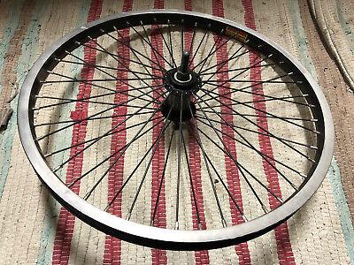 """FAT Black Bicycle Rim 20/"""" x 125MM x 140 Spoke-Holes Bikes"""