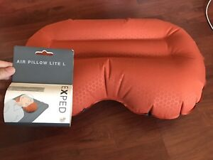 Brand new camping Exped Air Pillow Lite size L