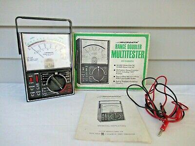 Radio Shack Micronta Range Doubler Multitester 43 Ranges 22-204a