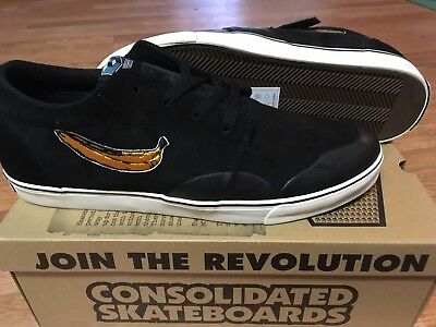 Consolidated Skateboards BS Drunk 4 Banana Skateboarding Shoes Vans Anti Nike SB