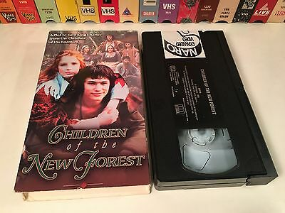 * Children Of The New Forest Family Historical Drama VHS 1998 Tom Wisdom BBC