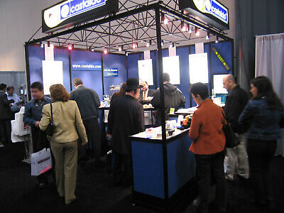 Trade Show Booth Folding Canopy - Dress Up Your Stand - Heavy Duty Case
