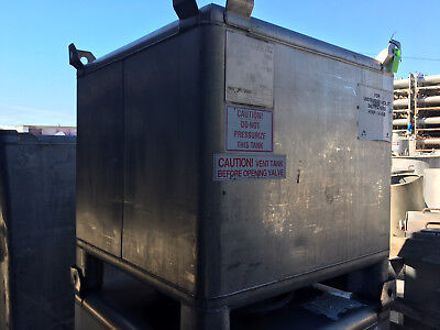 255 Gallon Stainless Steel Tote Tank