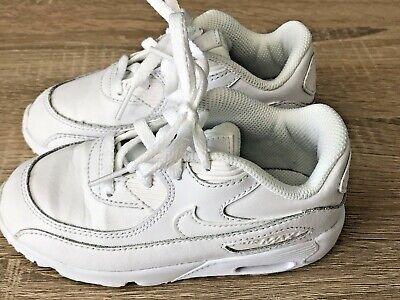 Nike air max  white Infant Trainers Size 8.5 / Eu 26