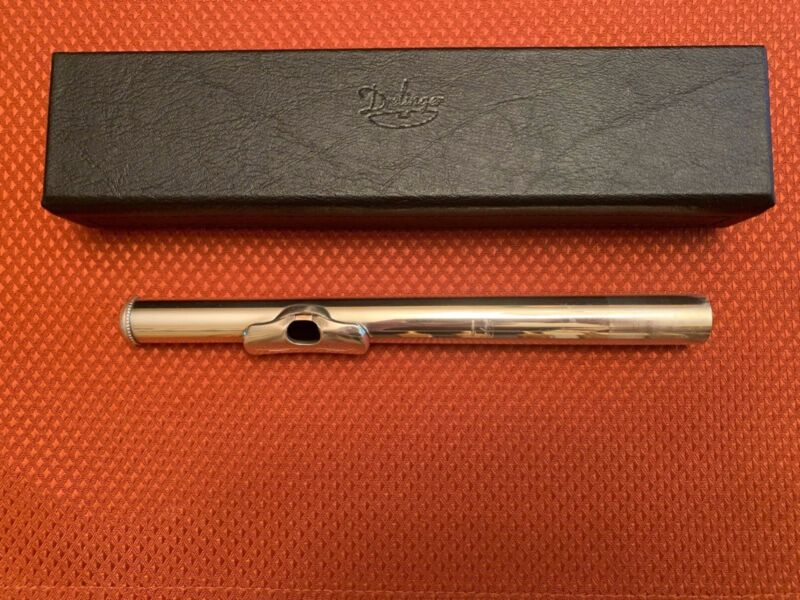 """Drelinger """"Max"""" Flute Headjoint Karritium Tube with Gold Air Reed"""