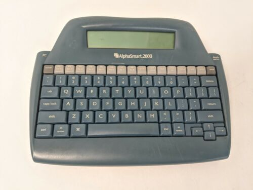 AlphaSmart 2000 Portable Laptop Keyboard Word Processor Digital Typewriter WORKS