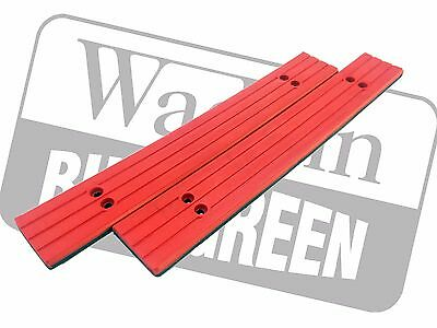 Red Topped Feed Table Slats For Wadkin Bursgreen Par Mkii Four Sided Planer