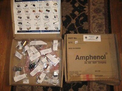 Lot Of 2 Amphenol Data Telecom Rugged Connectors Harsh Environment Sample Kits