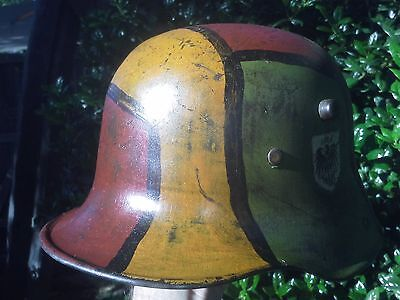 WW1 Imperial German M16 Helmet SI66 Original Shell.
