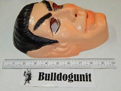 1976 Vintage Spock Star Trek Adult Mask w/ Tag Paramount Halloween Super Heros  - Captain Kirk Mask Halloween