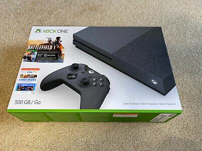 New Xbox One S Console - 500gb Storm Grey Special Edition Read Description