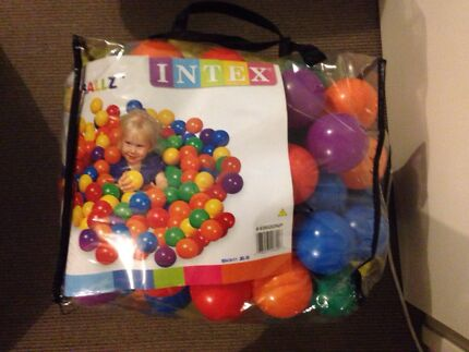 Plastic coloured ball pit balls  Hocking Wanneroo Area Preview