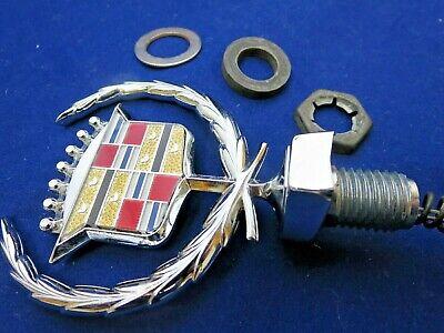 New GM NOS 1980 - 1992 Cadillac Fleetwood Brougham hood ornament emblem crest