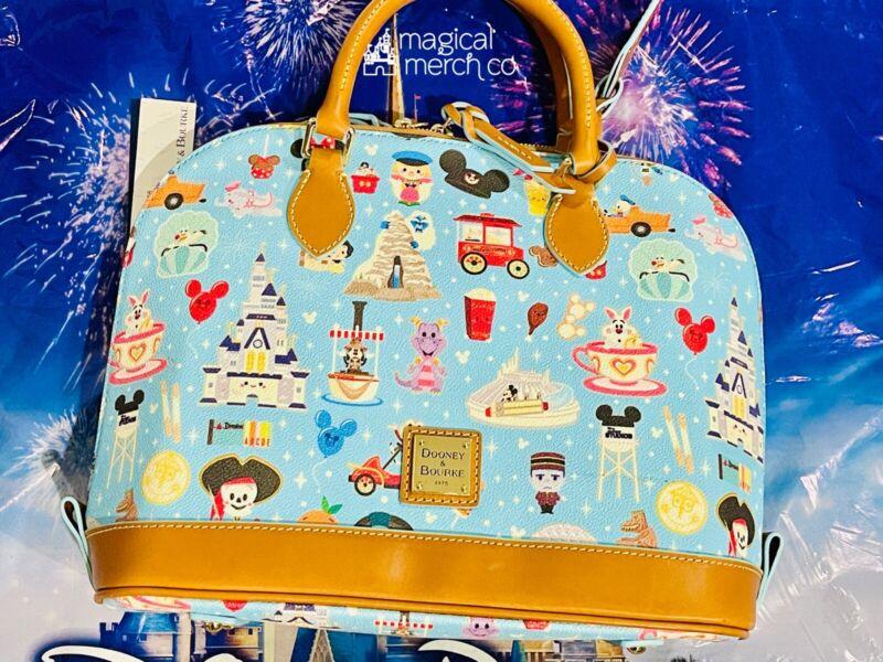 2021 Disney Parks Dooney & Bourke Jerrod Maruyama A Walk In The Park Satchel B