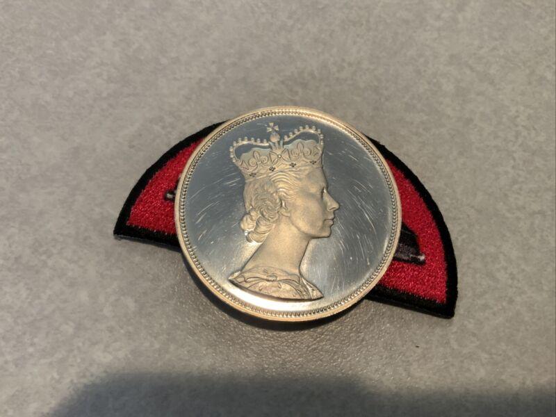 1964-1864 (Royal)Visit Canada Quebec-Charlotttown Silver Dollar Prof (Rare)