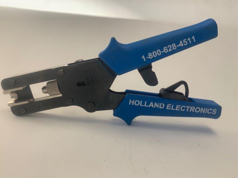 Holland F/RCA/BNC Compression Tool