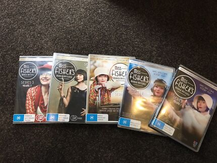Miss Fisher's Murder Mysteries Series 1 to 3
