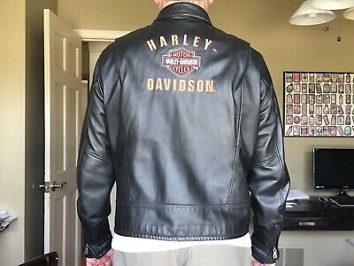 Harley Davidson Pathway Leather Jacket Mens (XL)