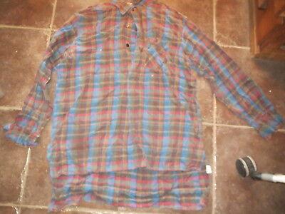 Antike Shirt D'Homme Bauer Landhaus Folklore Kostüm Kidur Größe 44