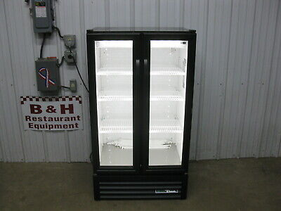 True Gdm-30-hc-ld Glass Door Merchandiser Refrigerator Beverage Cooler 2018 Mod