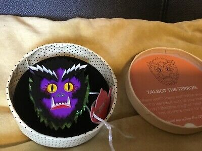 Erstwilder Brooch Talbot The Terror 2018 Halloween Werewolf BNWT Resin Acrylic