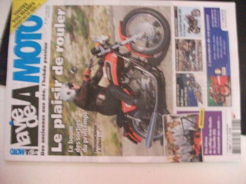 ** Revue La vie de la Moto n°1017 Provencienne à Sénas / Veteran moto club belge